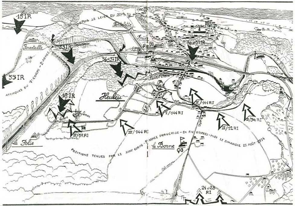 UNE VISITE ... sur le champ de bataille de Lobbes - Part I Bataille-lobbes